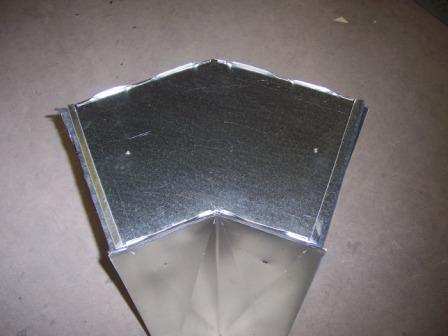 West Palm Beach Sheet Metal 45 degree duct