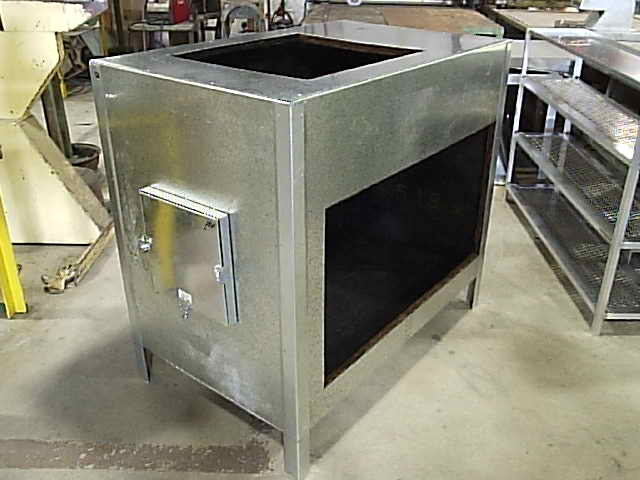 Palm Beach Sheet Metal air handler stand