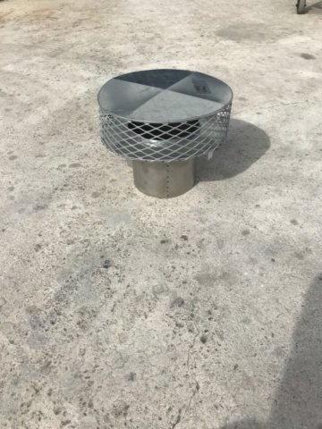 Palm Beach County Sheet Metal Chimney Termination Cap photo