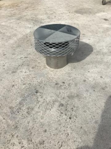 Palm Beach County Sheet Metal Chimney Termination Cap photo