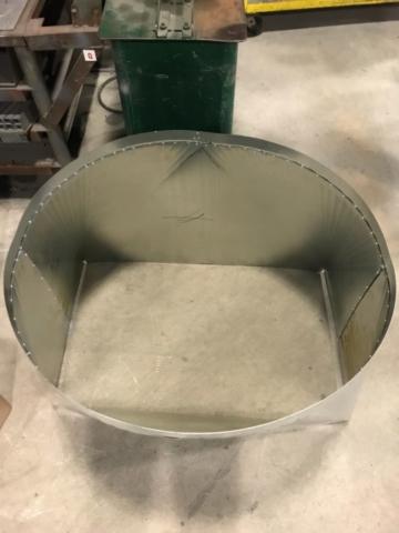 Lake Worth Sheet Metal Fabricated square to round transition