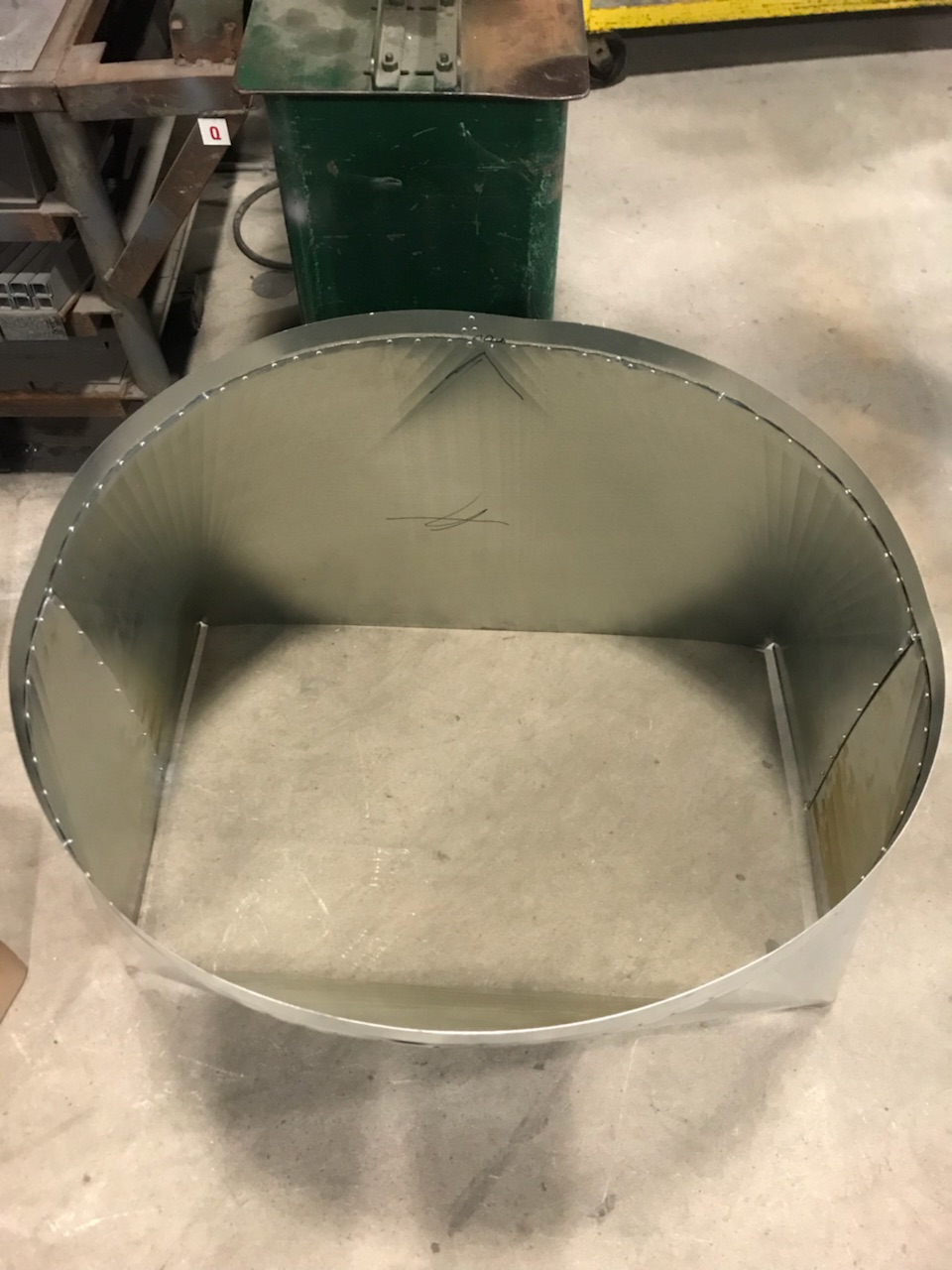 Lake Worth Sheet Metal Fabricated square to round transition