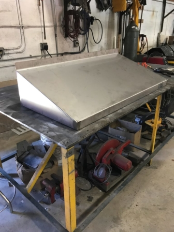 All County Sheet Metal Range Hood photo