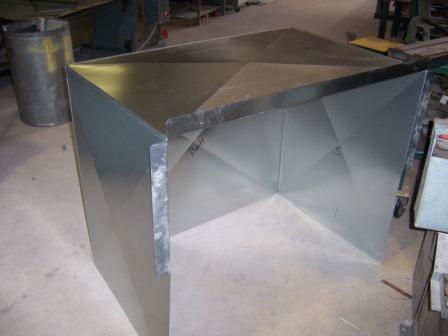 Palm Beach County Sheet Metal Doghouse Cover