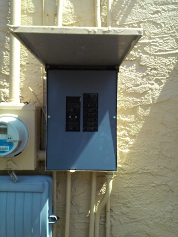 Dead Front for electric box panel in west palm beach