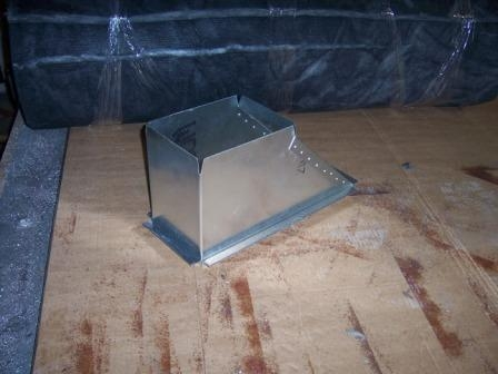 Wellington Sheet Metal offset for air conditioning duct