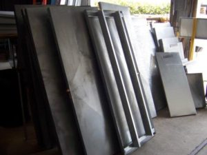 Stock sheet metal products at All County in Lake Worth