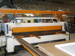 Metal Fabrication Limitations can be created by the size of machinery at a location.