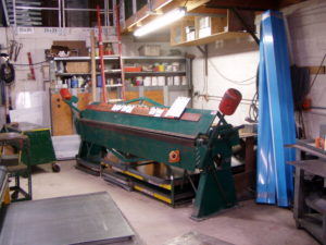 Metal Fab Machinery at All County Sheet Metal in Palm Beach County
