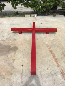 sheet metal cross for church in margate, fl